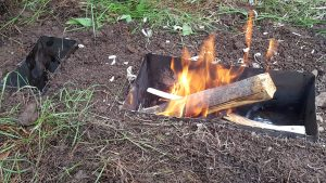 Pit Style Camp Stove